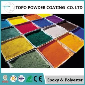 China RAL 1003 Industrial Epoxy Polyester Powder Coating High Gloss 3mm Flexibility on sale