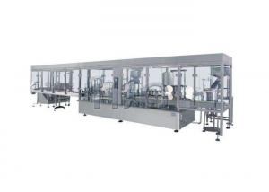 China Automatic Filling Machine , Powder Filling And Sealing Capping Label Printing Production Line on sale