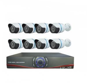 China HD CMOS 1000TVL H.264 8ch AHD DVR CCTV Camera Kit 8 Waterproof Indoor Bullet camera on sale