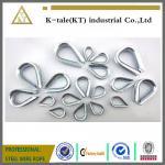 Aparejo galvanizado eléctrico del hardware del dedal de la fábrica de China/dedal galvanizado de alta calidad para la honda de la cuerda de alambre que apareja