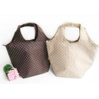 White Polka Dot Insulated Cooler Lunch Bag Ladies Tote Bags