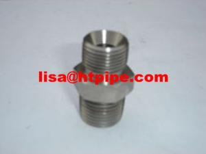China Astm A-312 TP 317L threaded nipple on sale