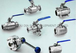 China 400G Mirror Polishing SS Sanitary Ball Valve 2 Piece For Beverage Industry on sale