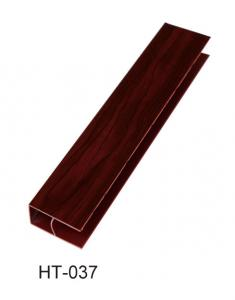 China Customrzed PVC Moulding Profiles Round Extrusion Frame For Doors on sale