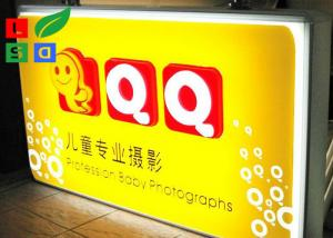 China Double Sided LED Outdoor Light Box Vacuum Form For Exterior Branding Sign on sale