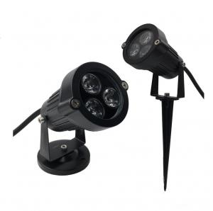 China IP40 round D95mm black 45degree lens indoor 1x3W LED gardenl lights for hotel on sale