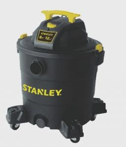 Stanley SL18017P 5.5 Peak HP 8 Gallon Portable Poly Wet Dry Vac with Casters