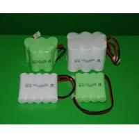 Environmental Nicd Rechargeable Battery Pack , 1.2V 1500 mAh UL / ROHS / CE