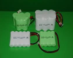 China Environmental Nicd Rechargeable Battery Pack , 1.2V 1500 mAh UL / ROHS / CE on sale
