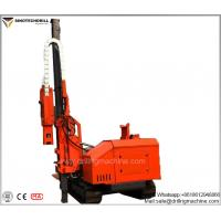 China Hydraulic And Power System Drill Rig Machine With 3760 Mm Lift Propel Movement on sale