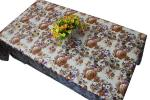Mantel impreso floral de la tela