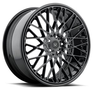 China Gloss Black Customised 2-PC Forged Alloy Rims 17 For Audi S4 / 19 alloy rims on sale