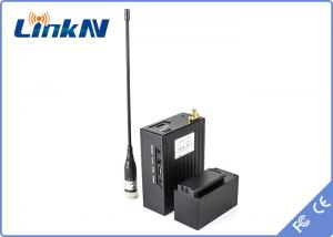 China Armed police military wireless hd video transmitter 256 bit AES HDMI AV input supplier