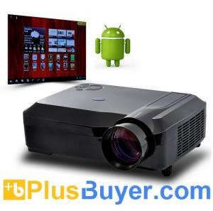 China Smartbeam - Full HD 1080P Android 4.0 LED Projector (2000 Lumens, 3D, WiFi) on sale