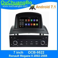 China Ouchuangbo auto radio player android 7.1 for Renault Megane II 2002-2008 with calendar 3G WIFI  anti-shock system on sale