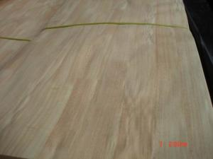 China Natural Finger Joint Rubberwood Wood Veneer Sheet Grade A / B on sale