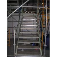 China Aluminum Cuplock System Scaffolding Metal Stair Stringers Hot Dip Galvanization on sale