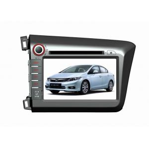 China For Honda New Civic 2012, 8 Inch HD Honda Car DVD player with Bluetooth / RCA / GPS / IPOD DR8766 on sale