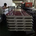 MOQ 426.3 sqm 50mm eps sandwich roof panel with 0.4mm steel sheet for sale