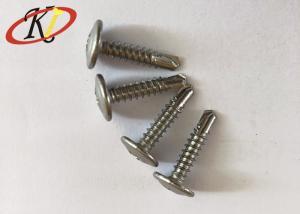 China Stainless Steel Truss Head Screws Steel Machine Screws High Hardness on sale