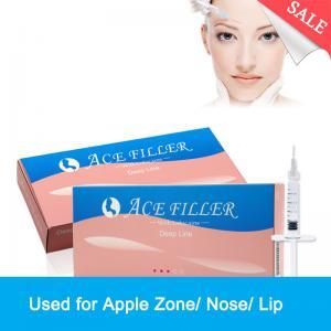 Quality Wholesaler 1ml Crosslinked Dermal Injectable Hyaluronic Acid Filler for sale
