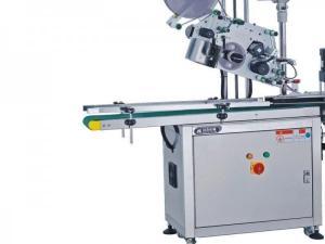 China Stable Automatic Flat Labeling Machine , Adhesive Sticker Flat Surface Labeling Machine on sale