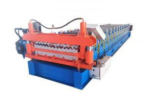 China Two Designs Roofing Sheets Roll Forming Machine Size 6500*1500*1500mm Weight 4.5 Tons on sale