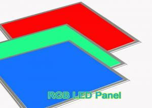 China High Brightness RGB RGB LED Panel Light , 60x60 Recessed Lighting For Kitchen Ceiling on sale
