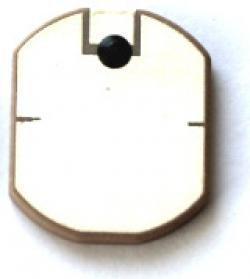 China RFID UHF Ceramic Anti-metal Tag, 3M adhesive fixation, Waterproof, induction distance further on sale