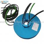 50.4mm Medical equipment Pancake Slip Ring  through hole slip ring thickness:20mm