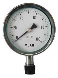 China low pressure gauge,capsule pressure gauge on sale
