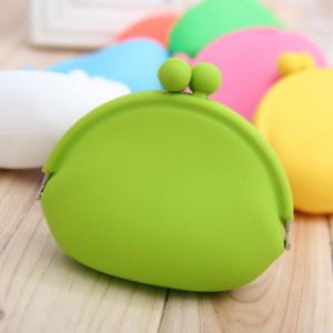 China Pouch bags carpeta del Portemonnaie Silikon Silicone Coin Purse on sale