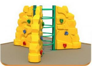 China Kindergarten Kids Plastic Climbing Wall Outdoor Use Long Service Life on sale