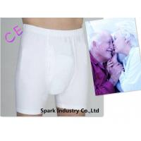 Cotton Adult Washable Incontinence Briefs With Pad For Men