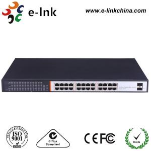 China Managed Ethernet POE Powered Gigabit Switch , POE Powered Network Switch on sale