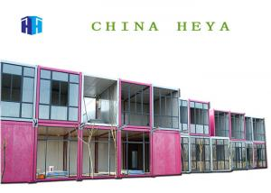 China Flexible Combination Movable Prefab House Container Hotel Rooms Luxury Heat Proof on sale
