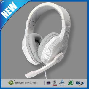 China Over-Ear Stereo Headphone or Earphone Built-in Mic LED Light For Games on sale