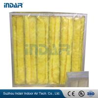 4 Bags Industrial HEPA Filter , G3 Pocket HEPA Pre Filter For Air Conditioning System