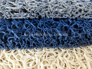 China Durable Outdoor Rubber Mats / Pvc Coil Door Non Slip Rubber Matting For Bath on sale