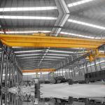 20T Span 20m EOT Traveling Double Girder Overhead Crane Steel Plants Using A5 Level