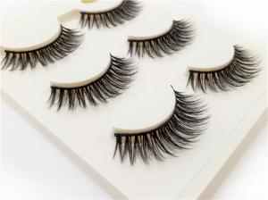 China Comfortable Individual Fake Mink Lashes Steady Curl 3d Beauty Lash Extensions on sale
