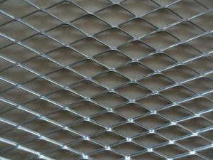 China Aluminium Material Expanded Metal Mesh With Powder Coating For Decoration supplier