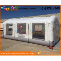 Outdoor Inflatable Spray Booth PVC Tarpaulin Inflatable Car Tent Digital Printing
