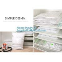 vacuum storage hanging bag, vacuum storage, cube vacuum storage, flat bag, vacuum clothes storage bag, bagease, bagplast
