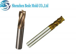 China Corner Radius End CNC cutting tools 4 Flutes TiN PVD Coating Tungsten Carbide on sale