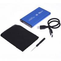 "High Speed 2.5"" USB 3.0 SATA External Hard Drive HDD Case /Enclosure Aluminum For Windows 7/8/98/ME/2000/XP for Mac OS"