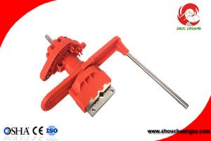 China F31 Steel LOTO Industrial Safety Lockout Tagout Universal Valve Lockouts on sale