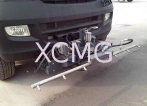 China High Pressure Special Purpose Vehicles, Truck Mounted Sweeper With 1.5m Cleaning Width on sale