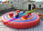 0.55mm PVC Tarpaulin Inflatable Sports Games Jousting Arena Ring With Air Sticks
