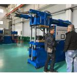 China Oil Seal Type Rubber Press Machine , 250 Ton Automatic Rubber Moulding Machine wholesale